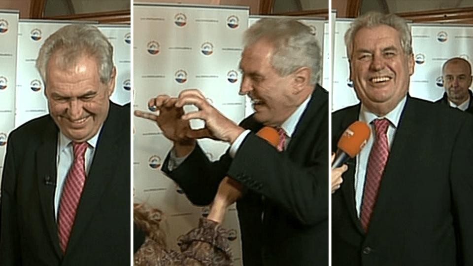 Video VIP zprávy: Prezident Miloš Zeman bude hostem první Partie TV Prima