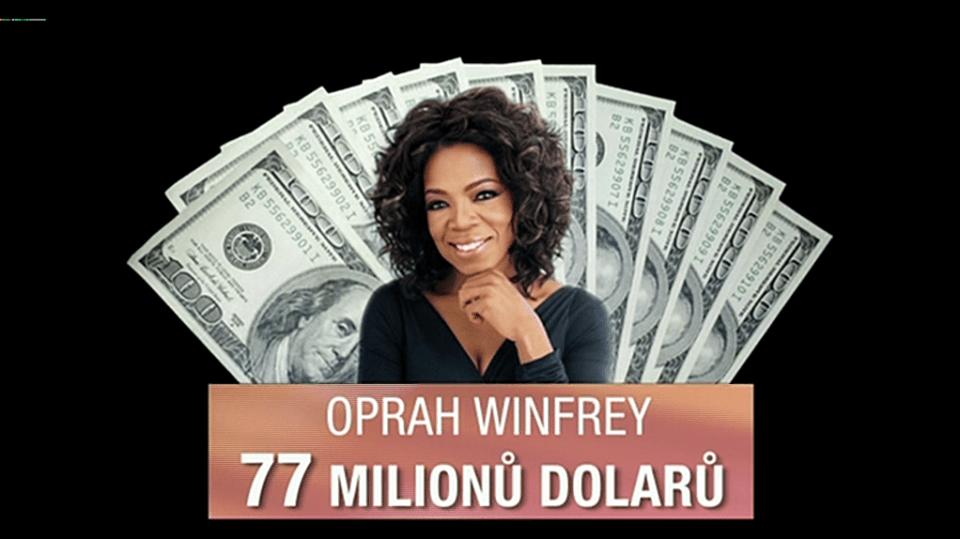 Video VIP zprávy: 10 nejbohatších celebrit