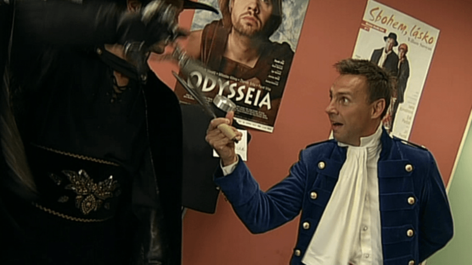 Video VIP zprávy: Připravuje se komediální muzikál Zorro