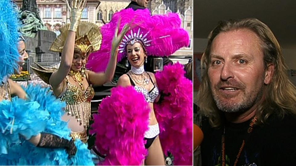 Video VIP zprávy: Zkoušky kostýmů na muzikál Mata Hari