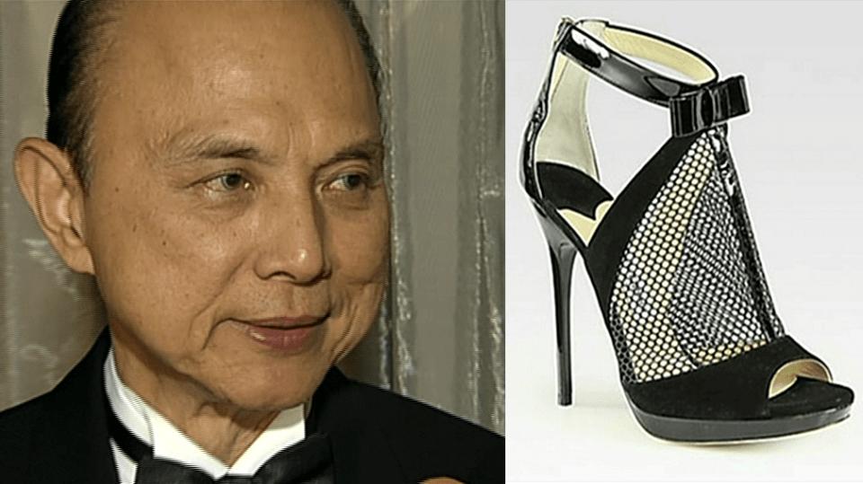 Video VIP zprávy: Slavný návrhář bot Jimmy Choo byl v Praze. Řekl nám, co se bude nosit