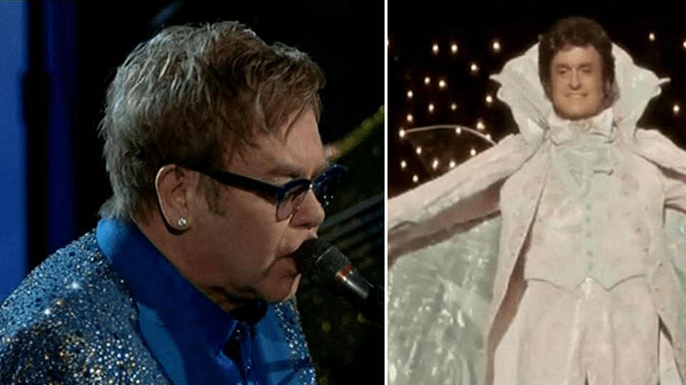 Video VIP zprávy: Na cenách Emmy tentokrát vystoupil i zpěvák Elton John