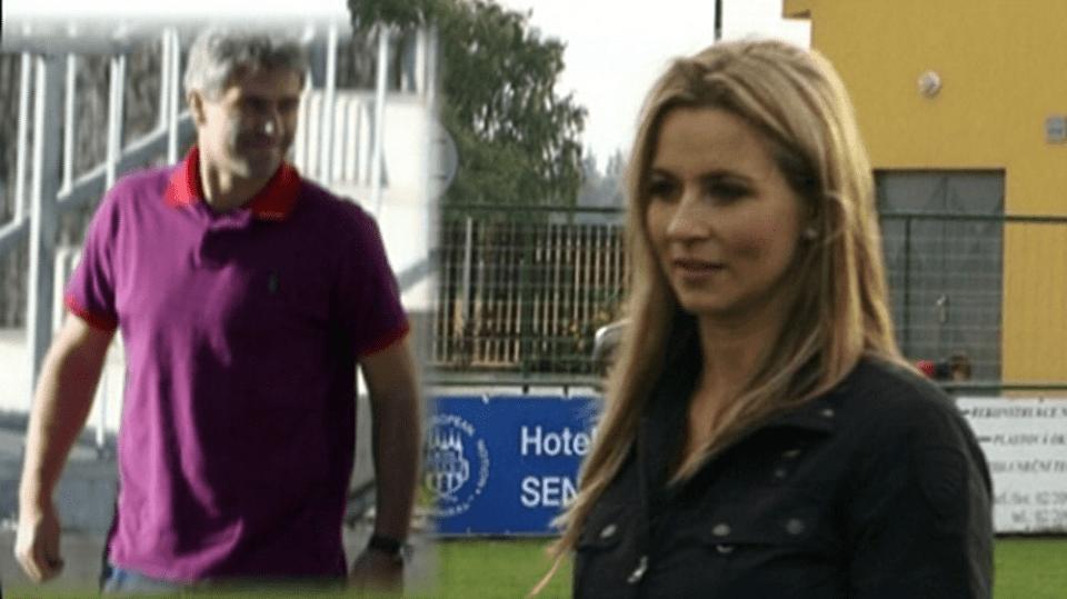 Video VIP zprávy: Monika Marešová, stále ještě manželka moderátora Leoše Mareše, má nového přítele