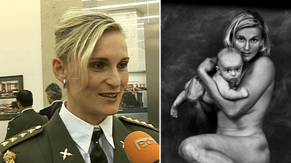 Video VIP zprávy: Oštěpařka Barbora Špotáková odhodila uniformu i stud a svlékla se před objektivem fotografa Jana Saudka