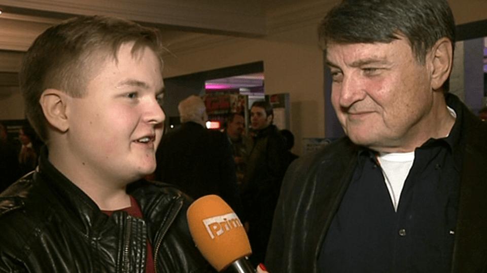 Video VIP zprávy: Ladislav Štaidl počítá s tím, že ho jednou jeho syn bude živit. Artur se teď prostě musí snažit!