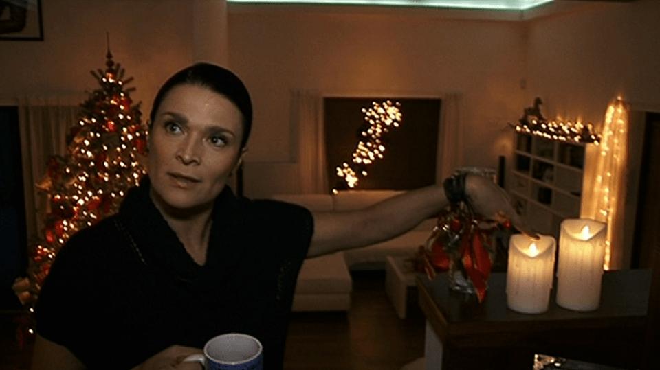 Video VIP zprávy: Mahulena Bočanová trochu předběhla dobu - vánoční výzodu do domu pořídila už na začátku listopadu