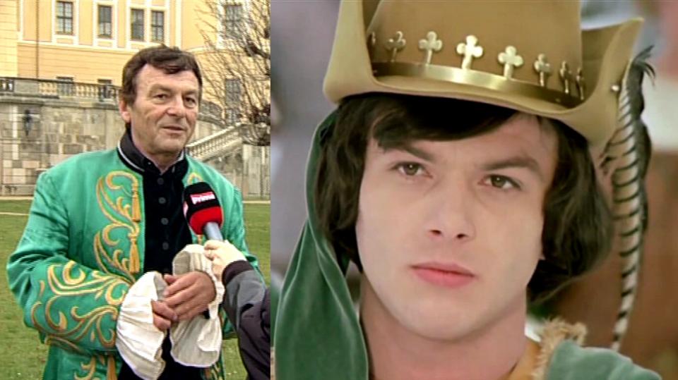 Video VIP zprávy: Princ Pavel Trávníček před 40 lety a dnes. Najdete pět rozdílů?