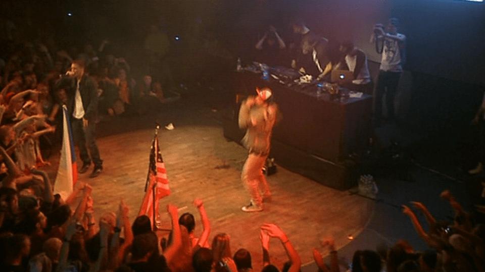 Video VIP zprávy: Rapper Marpo uspořádal absolutní mejdan