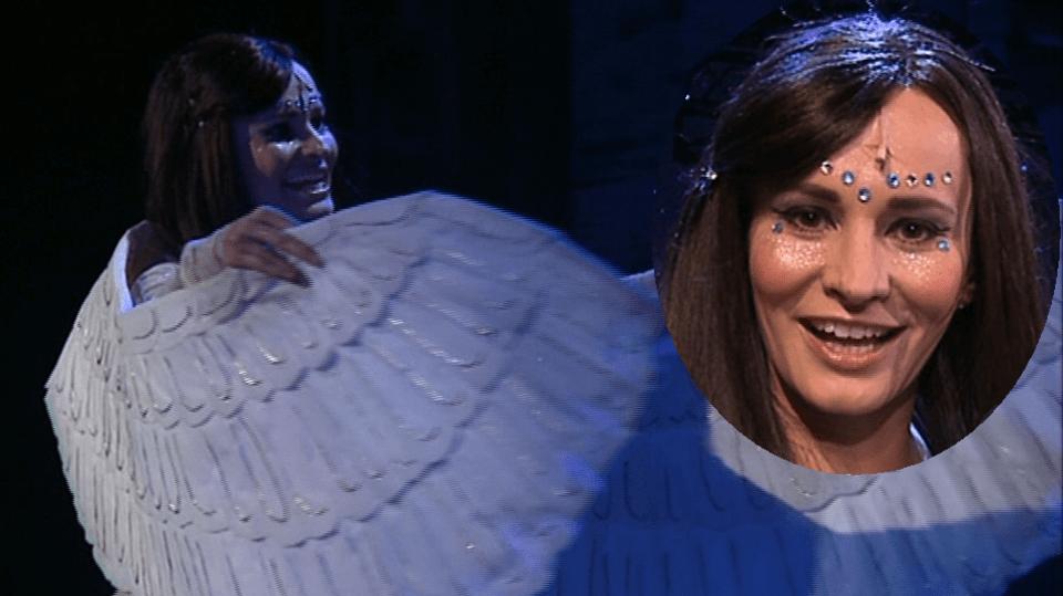 Video VIP zprávy: Monika Absolonová si v představení s názvem Děvčátko zahraje ironického anděla