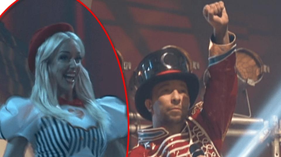 DJ Bobo předvedl v Čechách cirkusovou show. Asistovala mu zpěvačka Tereza Mátlová