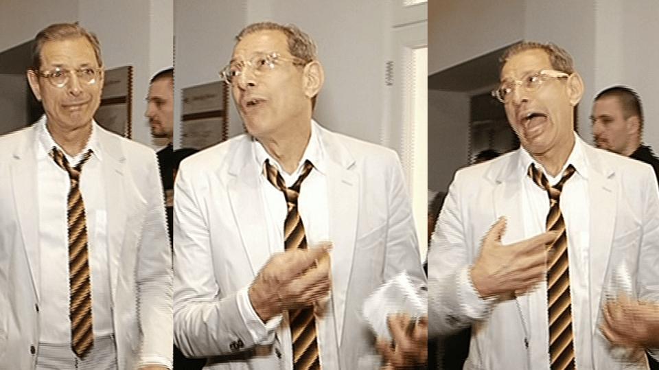 Video VIP zprávy: Jeff Goldblum je opravdu showman. Podívejte se!