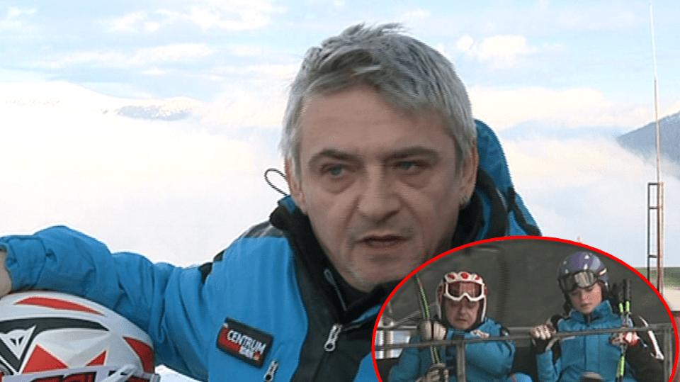 Video VIP zprávy: Michal Suchánek je vášnivý lyžař. Kvůli prázdným sjezdovkám je na svahu už v sedm ráno. I s dcerou Berenikou