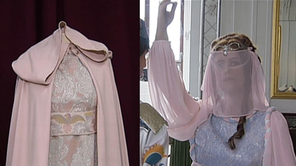 Video VIP zprávy: A jsou fuč! Někdo ukradl šaty z pohádky Tři oříšky pro Popelku