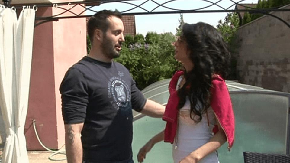 Video VIP zprávy: Noid s těhotnou Gábinou mají doma velkou pohodu