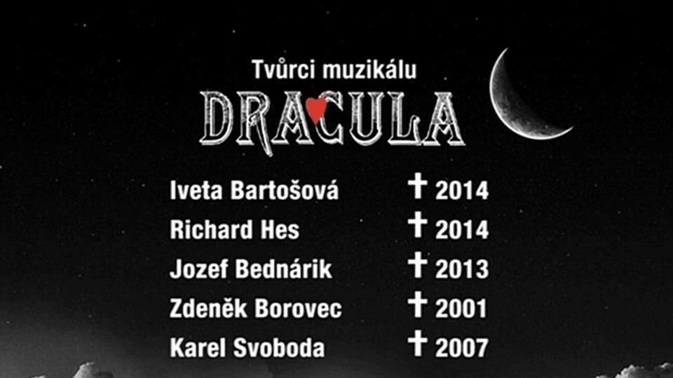 Video VIP zprávy: Tak tihle všichni, kteří se účastnili muzikálu Dracula, už nežijí