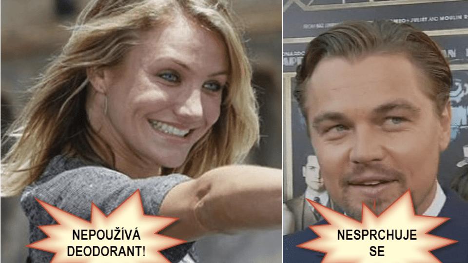 Video VIP zprávy: Cameron ani Leonardo nejsou vzory, co se čistoty týká