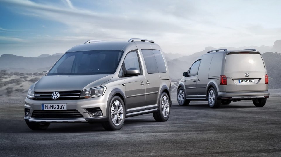 Volkswagen Caddy Alltrack - Obrázek 4