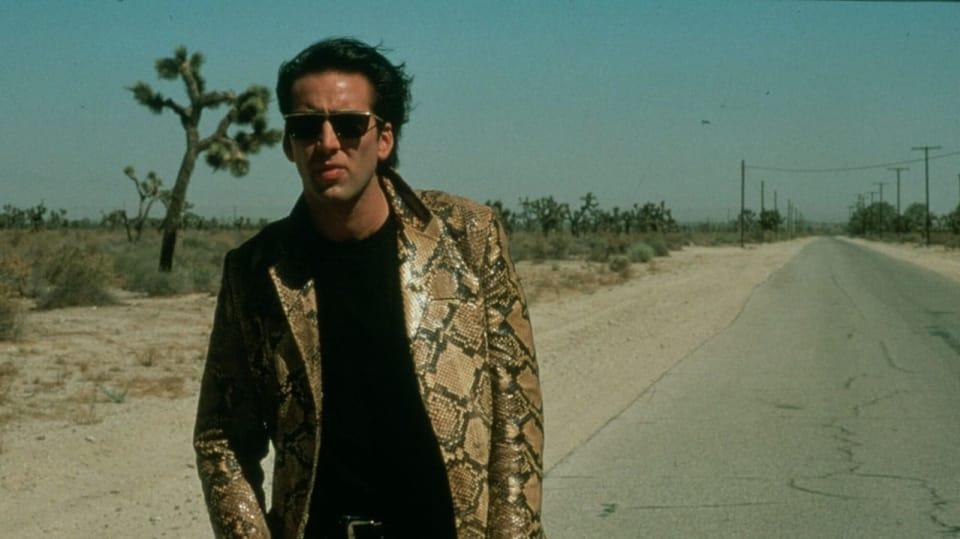 Nicolas Cage ve snímku Zběsilost v srdci