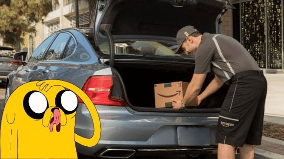 Amazon začal doručovat balíčky přímo do kufru auta - zatím jen v USA