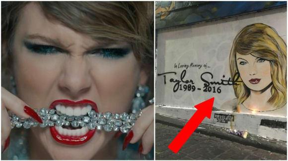 Je Taylor Swift skutečně po smrti?