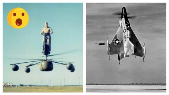 Nejdivnější letadla historie