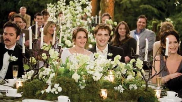 Twilight sága - svatební oběd