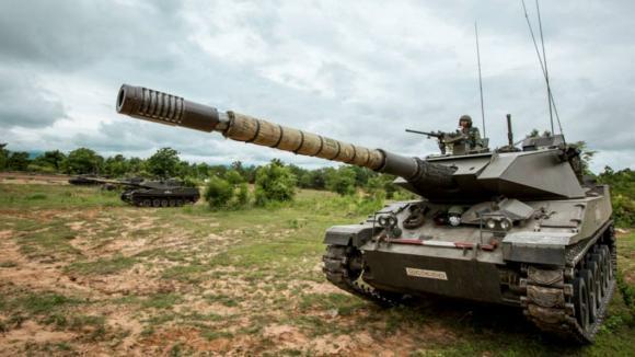 Stingray - tank, který neprorazil -připraven k akci