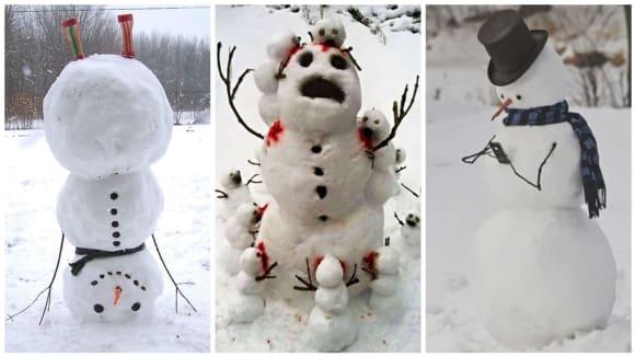 Tak trochu jiní sněhuláci