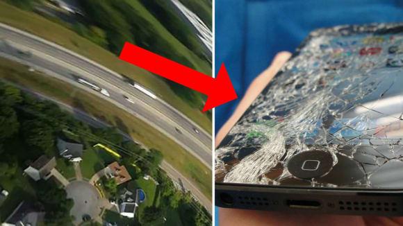 Telefon vypadl z auta a...