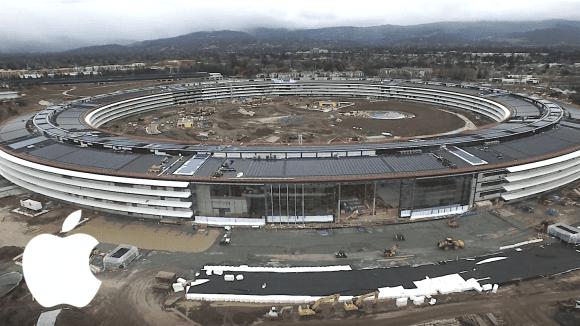 Apple Campus 2 - leden 2017