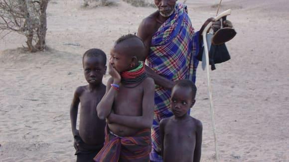 Dnešní obyvatelé břehů jezera Turkana