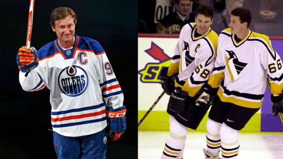 Gretzky, Lemieux, Jágr - největší hvězdy se mistrovství světa nevyhýbaly.