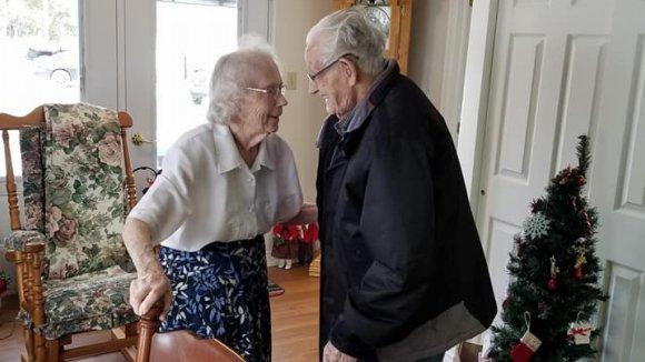 Herbert a Audrey Goodinovi společně strávili posledních 73 vánočních svátků. Teď je ale úřady rozdělily
