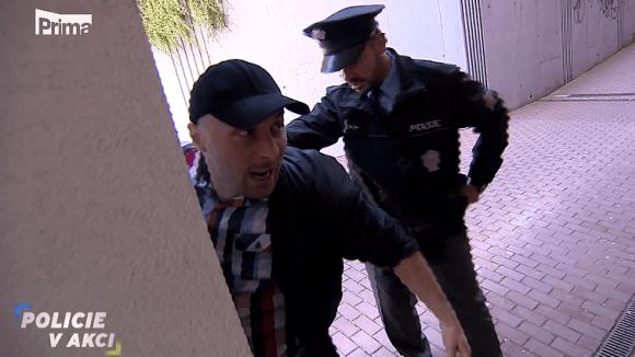 Zraněná žena - Policie v akci