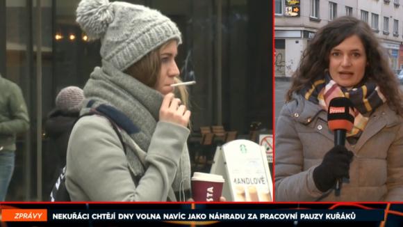 Nekuřáci chtějí dny volna navíc jako náhradu za pracovní pauzy kuřáků