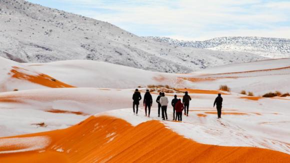 poušť na Sahaře
