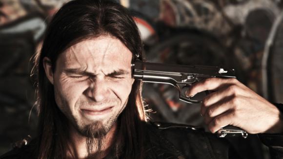 Sebevražda pistolí