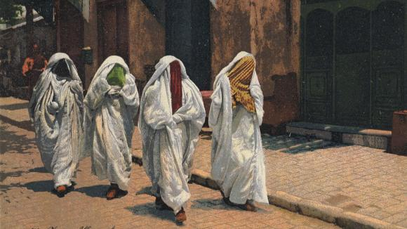 zahalená krása islámských žen