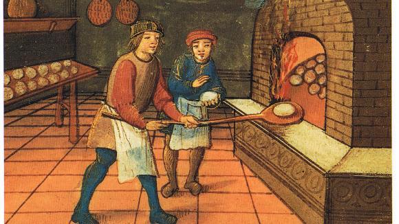 středověký pekař