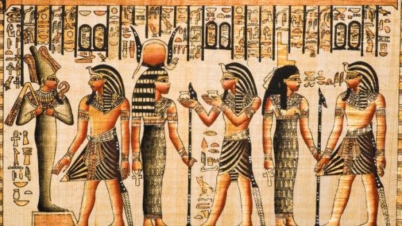 Pergamen z Egypta