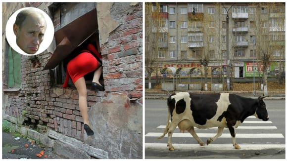 Ruská realita objektivem Alexandra Petrosjana