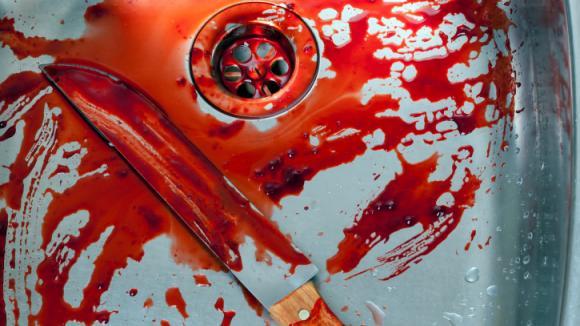 Krev v koupelně