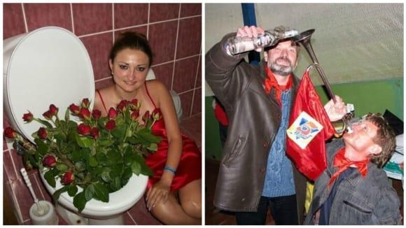 Další obyčejný den na ruských sociálních sítích...