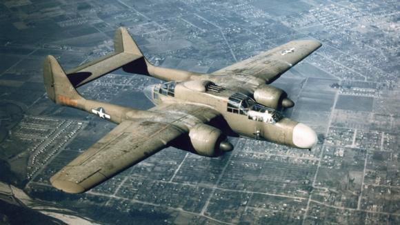 Northrop P-61 Black Widow byl prvním letadlem USA konstruovaným jako noční stíhač