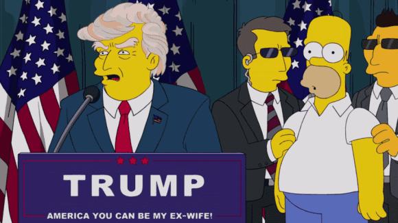 Trump a Simpsonovi