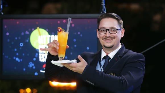 Soutěž barmanů na Mattoni Koktejl Festival 2017