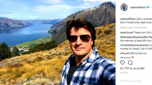 Nathan na Novém Zélandu
