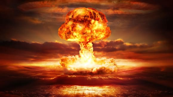 Výbuch atomové bomby způsobí učiněné peklo. A co teprve ta vodíková!