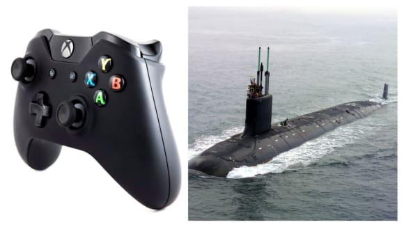Nová jaderná ponorka USS Colorado je vybavena xboxovými ovladači