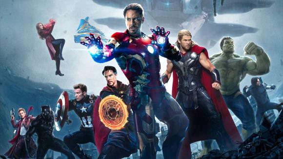Fanouškovský plakát Avengers: Infinity War